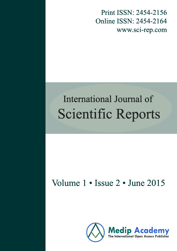 International Journal of Scientific Reports – Scientific Report